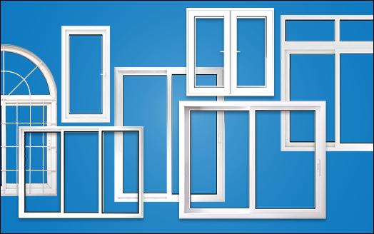 types of upvc windows