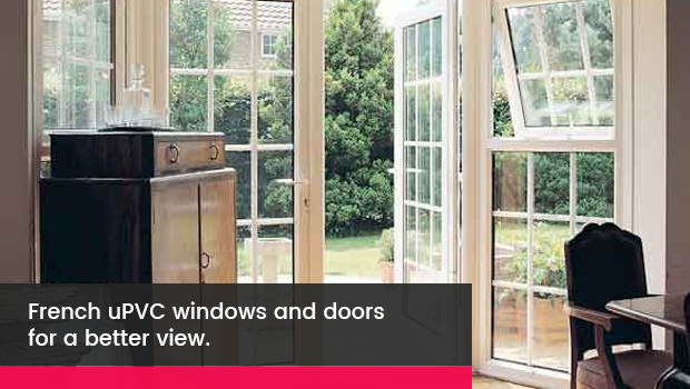Why are Venster uPVC French doors a good option?