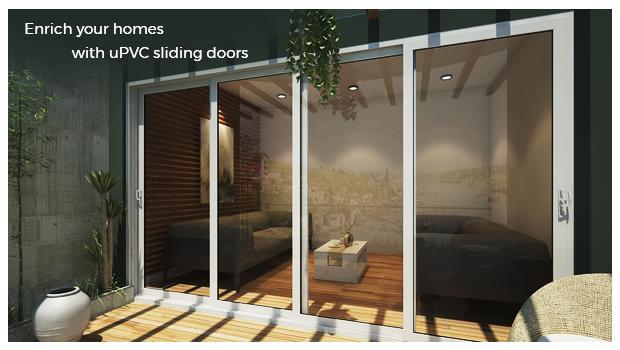 Upvc Sliding Doors Creates Ample Space At Homeaparna Venster
