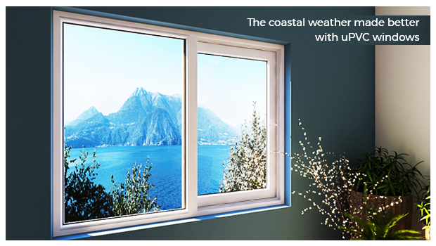 Are uPVC windows good for coastal weather?
