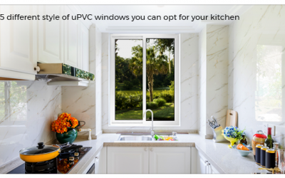 5 different styles of uPVC windows you can opt for your kitchen