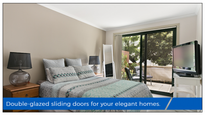 Double-glazed sliding glass doors: The solution to your new home