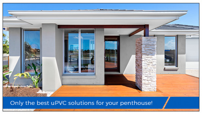 uPVC sliding windows for your dream penthouse