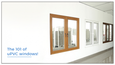 What is a uPVC window? And how are they made?