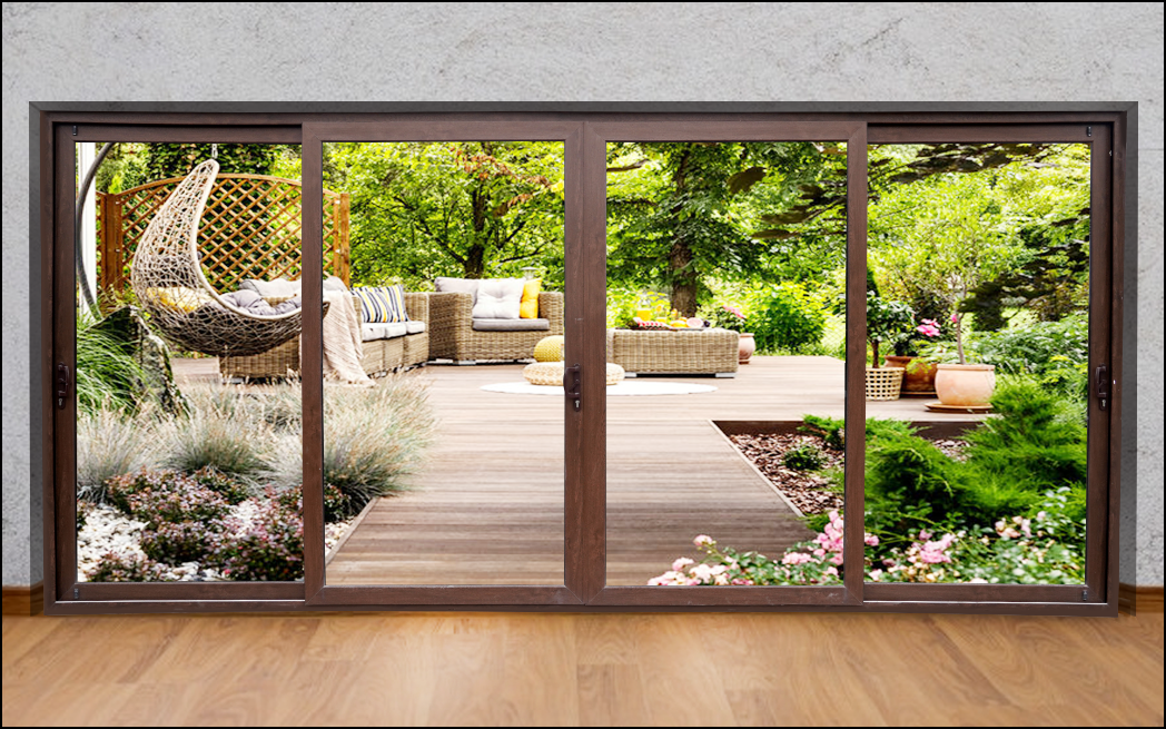 uPVC Sliding Windows & Doors : Bring the outdoors indoors
