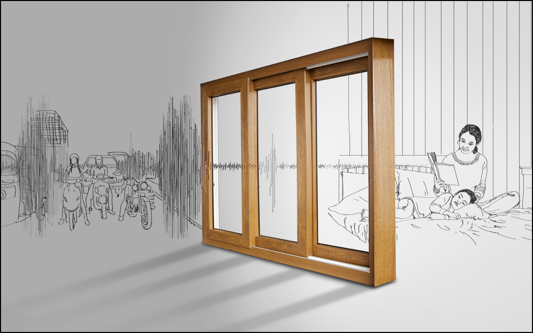 Windows that cut outside noise!