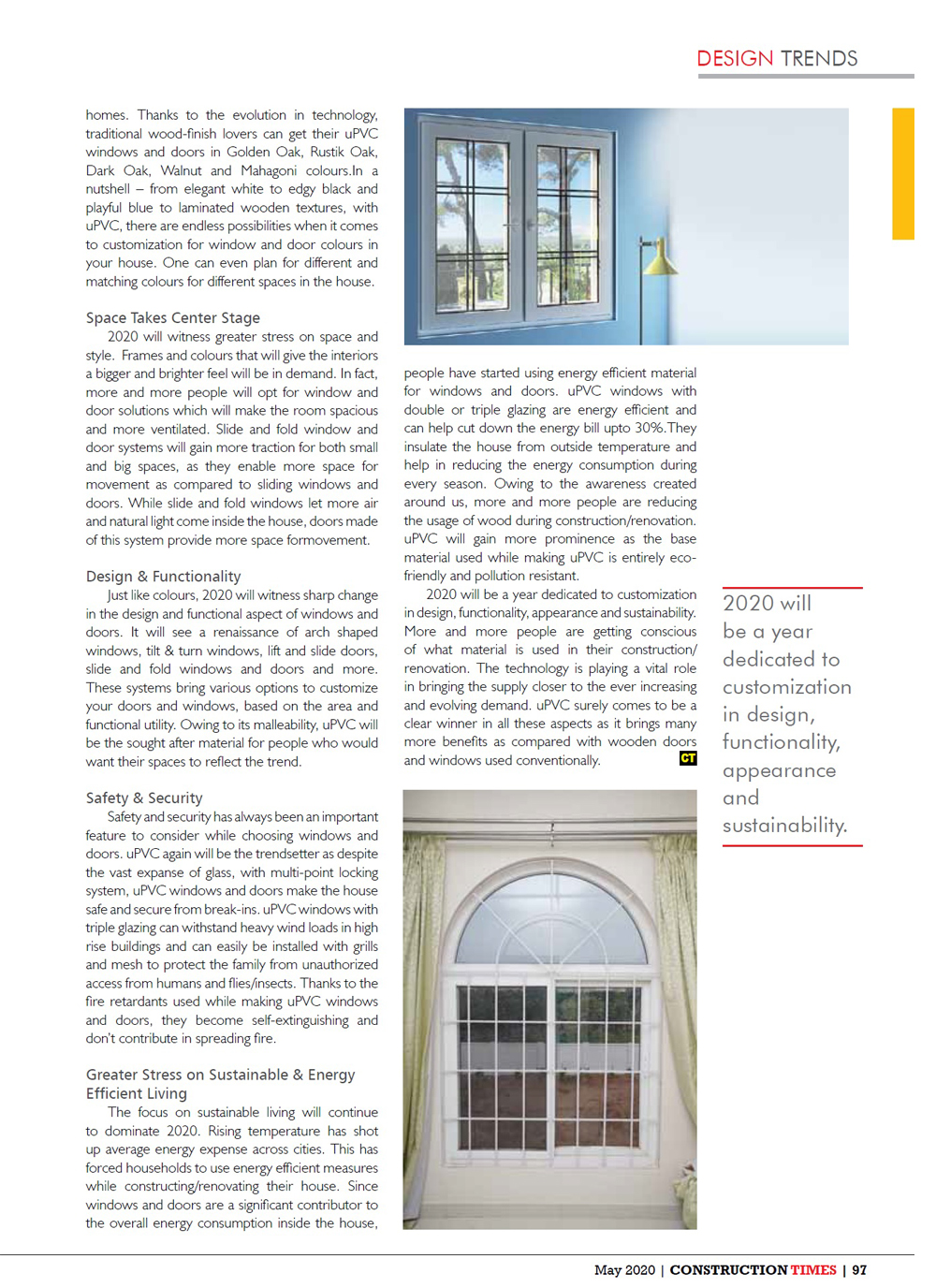 Emerging Trends In Window And Door Systems